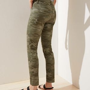 Ann Taylor Loft Camo Skinny Pants
